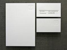 Letterpress // Eric Yerke Identity #letterpress #identity