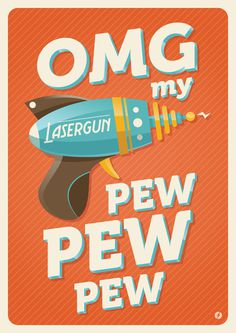 Lasergun by Emanuel Van Keirsbilck #weapon #gun #fi #sci #omg #ray #illustration #lasergun #pew