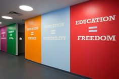 http://pentagram.com/en/AchievementFirst_09_pop.php #signage #big #interiors #typography
