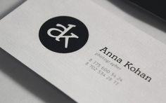 Anna Kohan logotype #kohan #logo #anna #branding