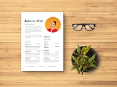 Free Research Assistant Resume Template with Clean Design