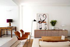 Casa Cambrils by Abaton Arquitectura limestone floors #interior #design #decor #home