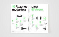 Anagrama | El Vivero #stationary #identity #branding