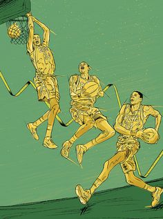 Illustration - 2014 on Behance #greek #giannis #illustration #grantland #freak #drawing
