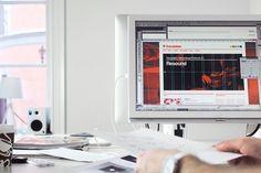Translation Recordings on the Behance Network #branding #webdesign #web