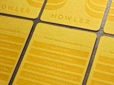 Howler | Lovely Stationery
