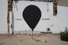 FUERZA PULMONAR | Gaucholadri #lung #gaucholadri #streetart #argentina #power #wall #painting