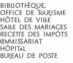 Ville de Beaune : bureau-205 #serif #type #design #caps