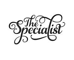 THE SPECIALIST #retro #texture #identity #logo #typography