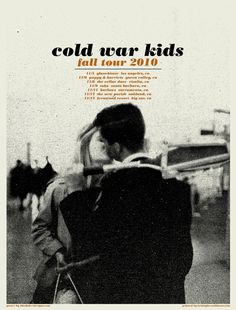 ColdWarKidsNovtour #kids #war #cold