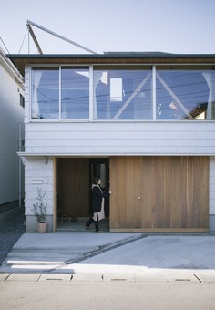 House In Kita-Koshigaya by Tamotsu Ito Architecture Office