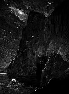 Dark Ink Illustrations