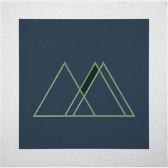 #421 Alpine botanical society – A new minimal geometric composition each day