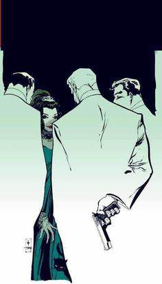 Comic Book Artist: Tim Sale | Abduzeedo Design Inspiration