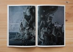 Fluid Displacements - Pierre Le Hors #photography #design #graphic #brochure