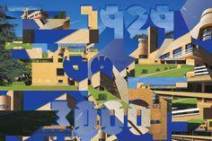 villa, cavroix, lille, building, puzzle, poster