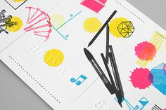 Playlab : Lovely Stationery . Curating the very best of stationery design #layout