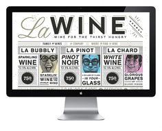 La Wine Agency | Fuzzco #fuzzco #wine #la #collateral #web