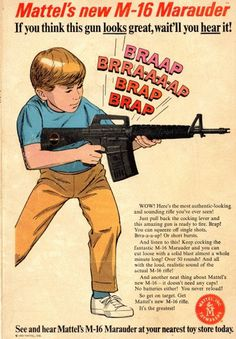 Art : Kill This Blog #1960 #guns #advertising