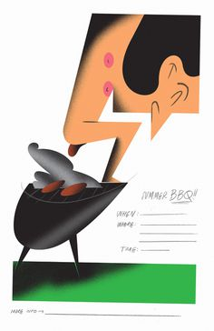 Bráulio Amado #poster #lettering #illustration