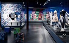 tim I State Museum of Textile and Industry, Augsburg: ATELIER BRÜCKNER #fashion #textiles #breuckner #exhibition