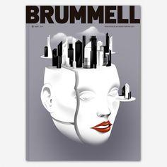 Brummell Magazine - Borja Bonaque #illustration #design #graphic #magazine