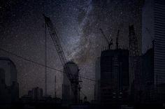 Ground Zero photo of night landscape of Thierry Cohen