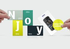 Sam Dallyn - Nokia NJOY - Branding for new phone program #identity