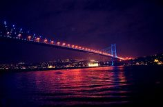 All sizes | Boğaziçi | Flickr - Photo Sharing! #turkey #night #istanbul #photography #shot #beautiful #bossphorus #bridge