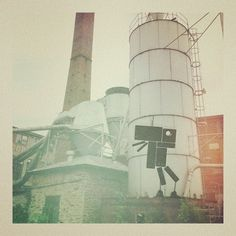 NTHN Creatures #art #industrial #photography #surreal #graffiti #street art #instagram