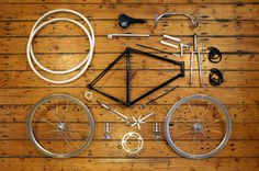 SUBMISSION: Anatomy Of A Fixed Gear Bicycle   www.dukeharper.com