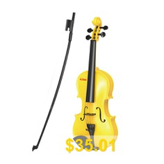 Baoli #Violin #Toy #Children #Gift #Baby #Music #Instrument #Beginner #- #YELLOW
