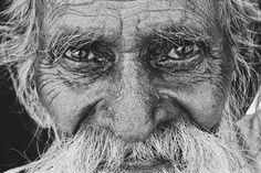 #portrait #oldman #expression #photography #india #blackandwhite #bengaluru #old #faces #beard #incredibleindia