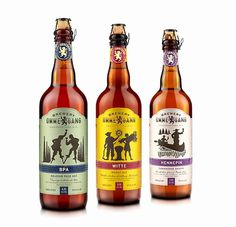 Brewery Ommegang Bottles #packaging #beer #label #bottle