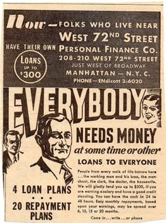everybodyneedsmoney.jpg (JPEG Image, 1211x1625 pixels) #money #advertising