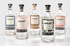 Lovejoy Vodka on the Behance Network #packaging #vodka