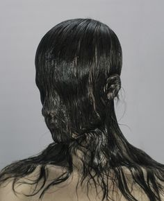levi van veluw-natural transfer I.jpg (JPEG Image, 424x522 pixels) #fashion #photography #hair
