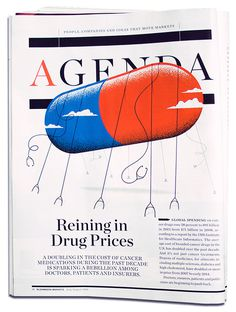 Bloomberg Markets - Matt Chase | Design, Illustration
