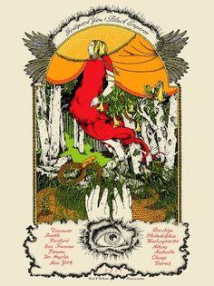 prints - DVDandrea #dandrea #you #v #black #illustration #poster #godspeed #david #emperor