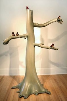 David Isenhour #hands #tree #art #bird