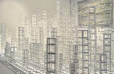 katsumi hayakawa: architectural paper sculptures #hayakawa #sculpture #katsumi #art #paper