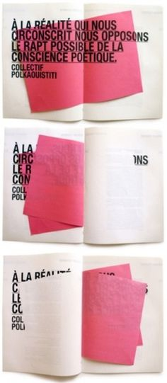 Design Fodder (Leitmotiv design by My Name Is Wendy.) #pink #print #design #typography