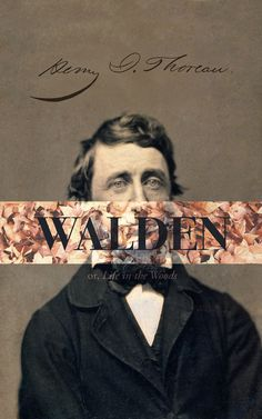 Walden book design by The Frontispiece