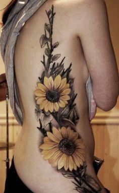 45 Inspirational Sunflower Tattoos