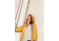 Tiny Atlas Quarterly Portraits #woman #lifestyle #yellow #sailing #portrait #photography #coat