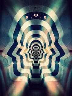 Leif Podhajsky's Psychedelic Art & Album Covers   Colossal