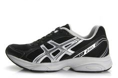 Mens Asics Gel Maverick 2 Black Slivers Shoes #shoes