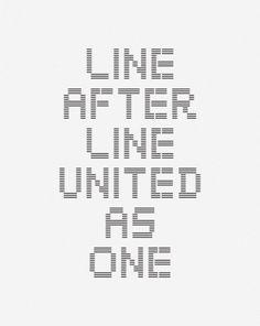 Ryan Dixon / Bench.li #lines #typography