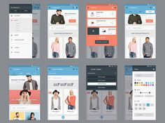 Materia : Free Ecommerce Mobile UI Kit