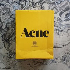 I love Acne Studios branding and packaging. It is…